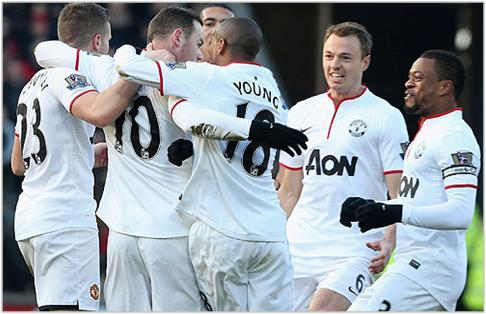hull manchester united 2013 premier league