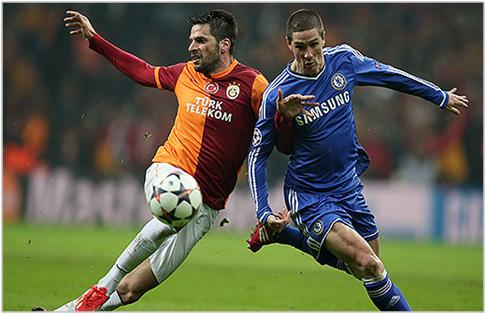 galatasaray chelsea 2014 champions league