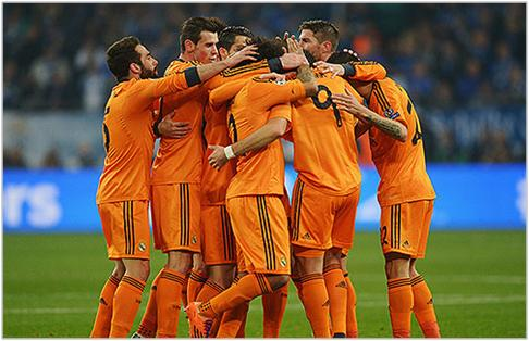 schalke real madrid 2014 champions league