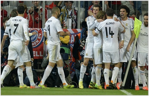 bayern munich real madrid 2014 champions league
