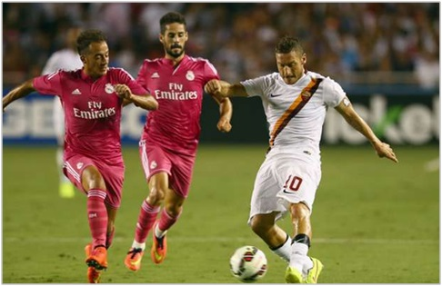 real madrid roma 2014 international champions cup