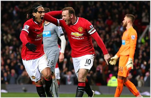 manchester united newcastle 2014 premier league
