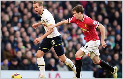 tottenham manchester united 2014 premier league
