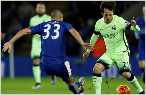 leicester manchester city 2015 premier league