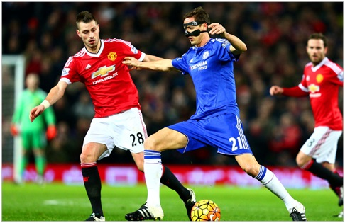 manchester united chelsea 2015 premier league