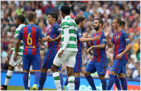 barcelona celtic 2016 international champions cup
