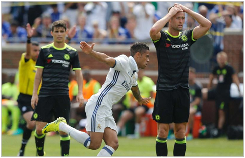 real madrid chelsea 2016 international champions cup