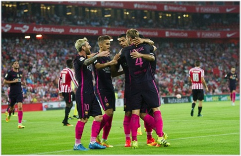 athletic club barcelona 2016 liga