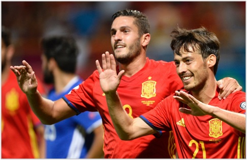 españa liechtenstein 2016 eliminatorias europeas