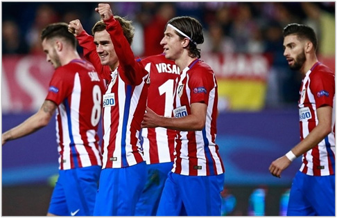 atletico de madrid rostov 2016 champions league