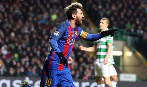Barcelona Celtic Lionel Messi Goles