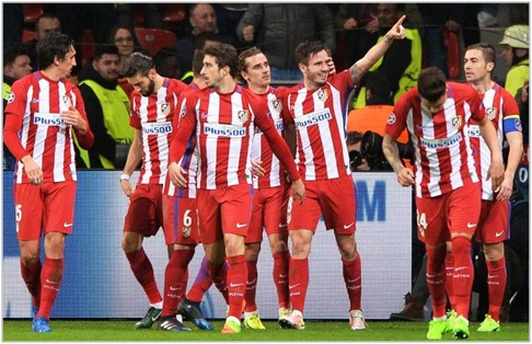 bayer leverkusen atletico madrid 2017 champions league