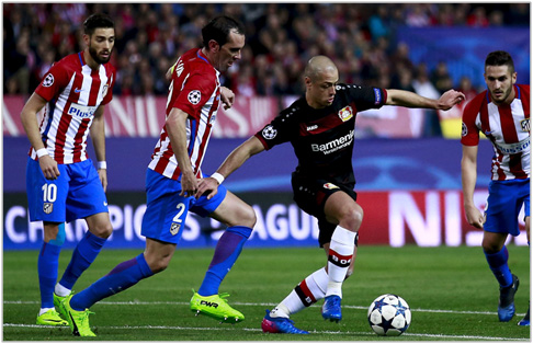 atletico de madrid bayer leverkusen 2017 champions league