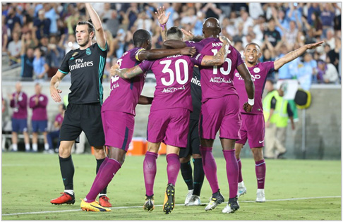 manchester city real madrid 2017 international champions cup