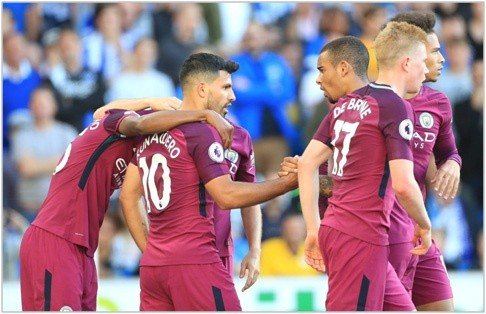 brighton manchester city 2017 premier league