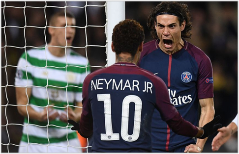 psg celtic 2017 champions league