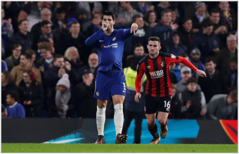 chelsea bournemouth 2017 carabao cup