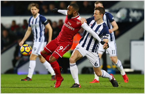 west brom arsenal 2017 premier league