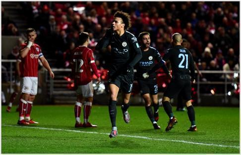 bristol city manchester city 2018 carabao cup
