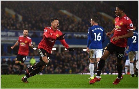 everton manchester united 2018 premier league