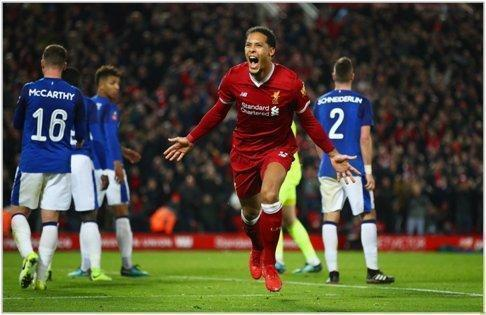 liverpool everton 2018 fa cup