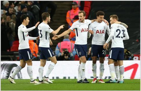 tottenham manchester united 2018 premier league
