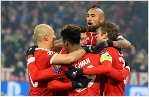 bayern munich besiktas 2018 champions league