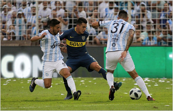 atletico tucuman boca 2018 superliga