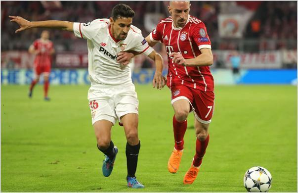 bayern munich sevilla 2018 champions league