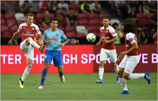 atletico de madrid arsenal 2018 international champions cup