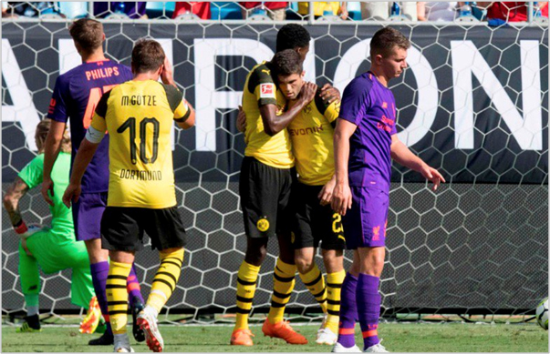 liverpool borussia dortmund 2018 international champions cup