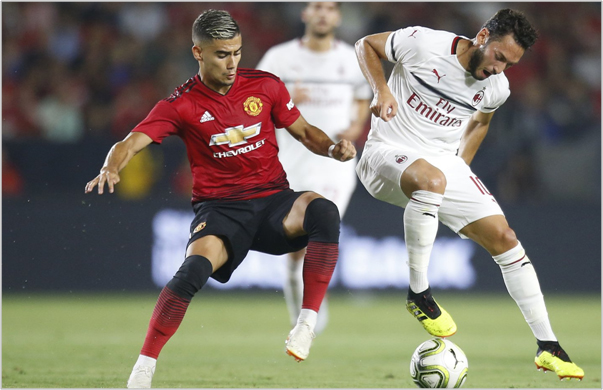 milan manchester united 2018 international champions cup
