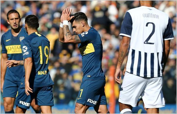 boca talleres 2018 superliga