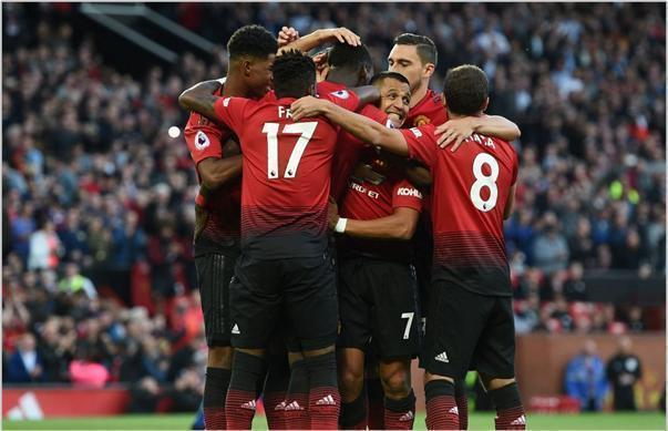 manchester united leicester 2018 premier league