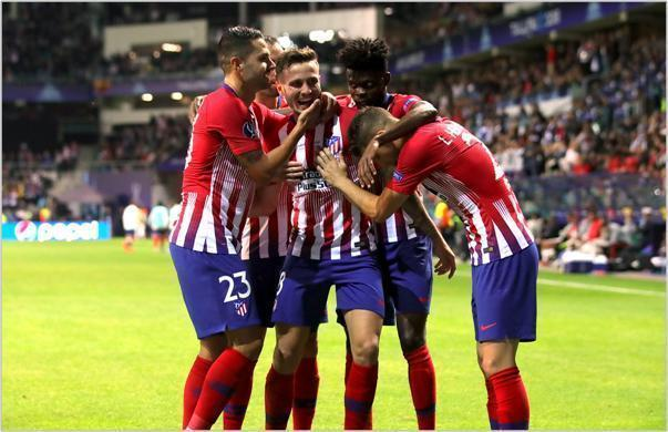 real madrid atletico de madrid 2018 supercopa de europa