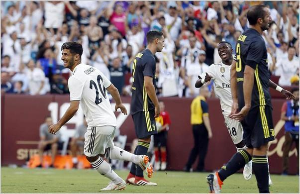 real madrid juventus 2018 international champions cup