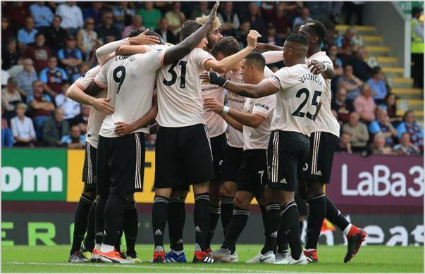 burnley manchester united 2018 premier league