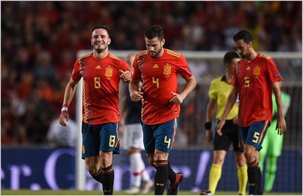 españa croacia 2018 nations league