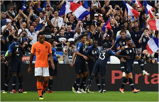 francia holanda 2018 nations league