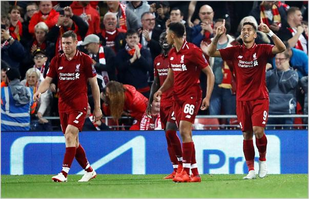 liverpool psg 2018 champions league