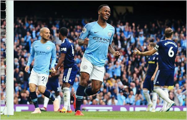 manchester city fulham 2018 premier league