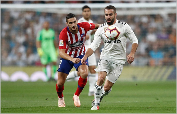 real madrid atletico de madrid 2018 liga de españa