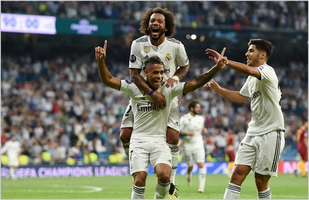real madrid roma 2018 champions league
