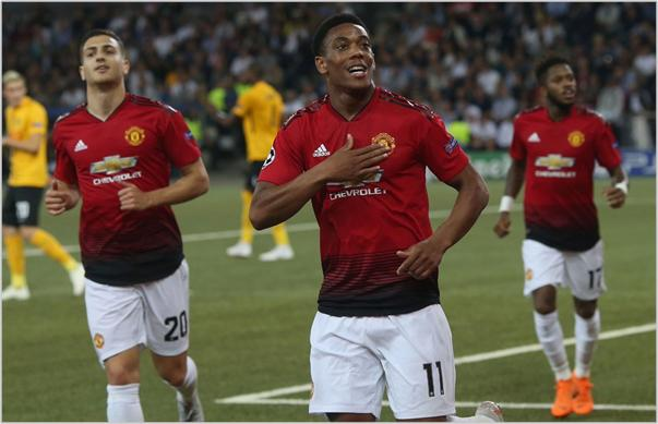 young boys manchester united 2018 champions league