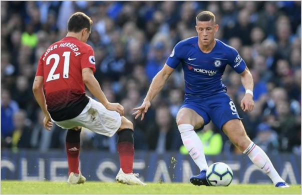chelsea manchester united 2018 premier league