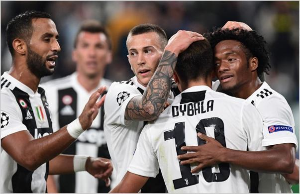 juventus young boys 2018 champions league