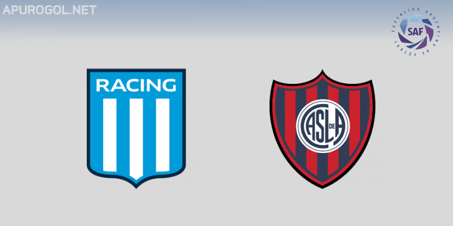 Racing vs San Lorenzo en VIVO ONLINE - Superliga 2018-2019 en DIRECTO Fecha 10