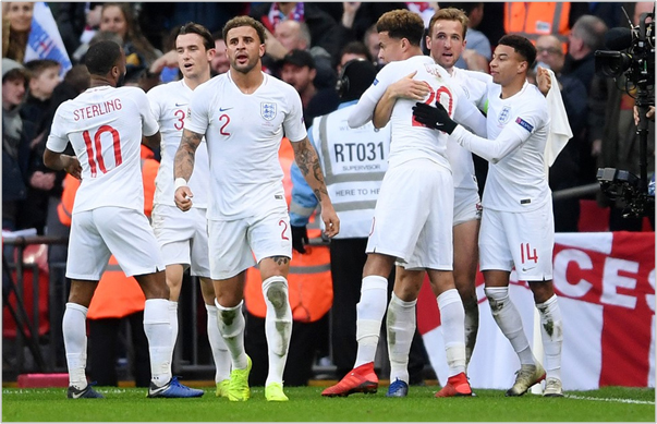inglaterra croacia 2018 nations league