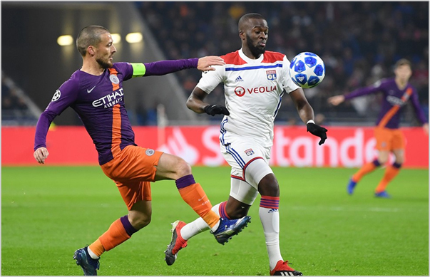 lyon manchester city 2018 champions league