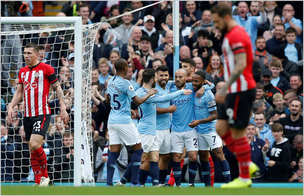 manchester city southampton 2018 premier league